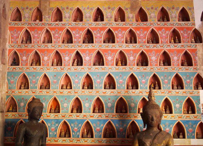 国内最古の寺院「シーサケット寺院」