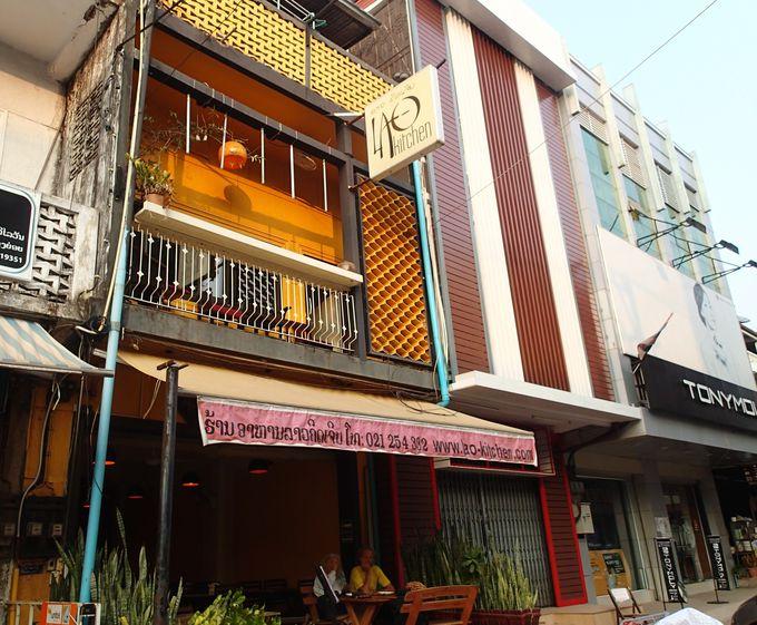 ビエンチャンの人気店。観光客で常に賑わう「ラオ・キッチン」