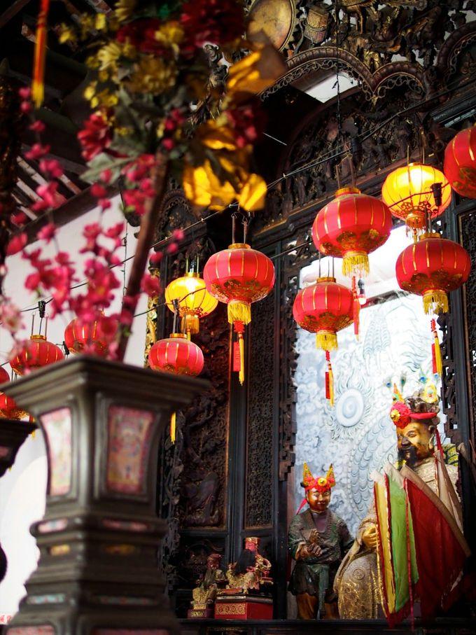中華系寺院も見逃せません!
