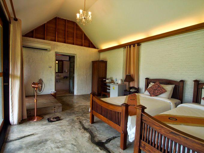 独立型ヴィラ形式の静かなホテル