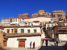 小ポタラ宮に松茸の乱舞!ビザなしで行けるチベット圏!中国雲南シャングリラの旅