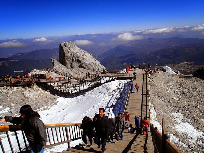 世界遺産「雲南保護地域の三江併流群」から除外されそうになった玉龍雪山