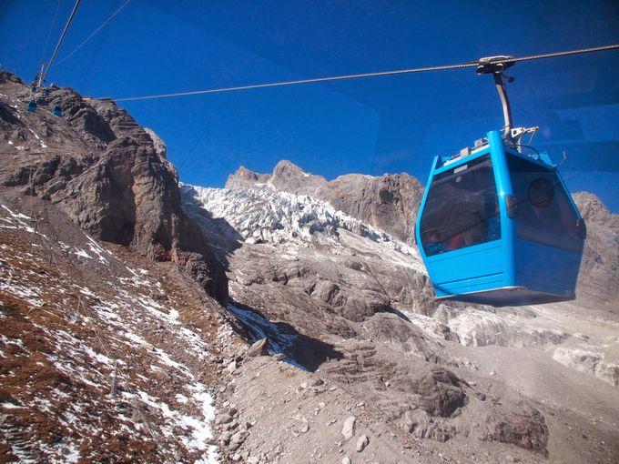 1日限定4,000人!リフトに乗って標高4,506メートルの世界へ