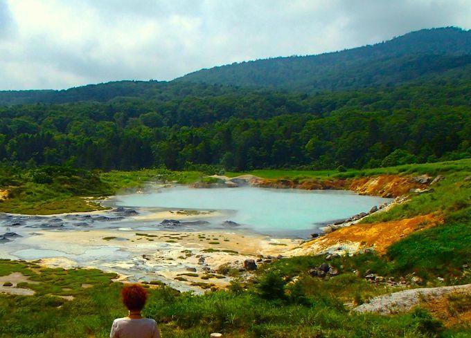 「後生掛自然研究路」で日本1の泥火山を探しに行こう