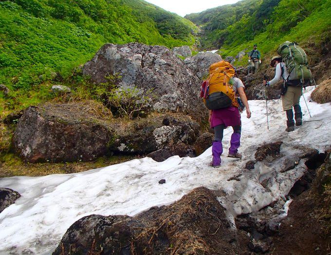 ルートは2つ!温泉地からスタートが嬉しい羅臼岳トレッキング