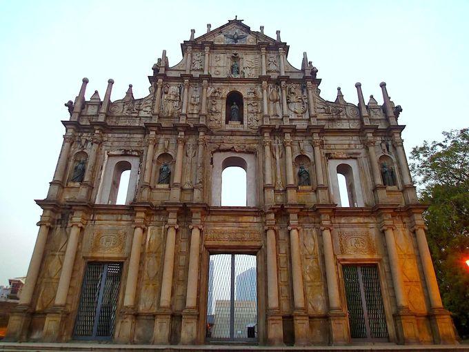 1.聖ポール天主堂跡