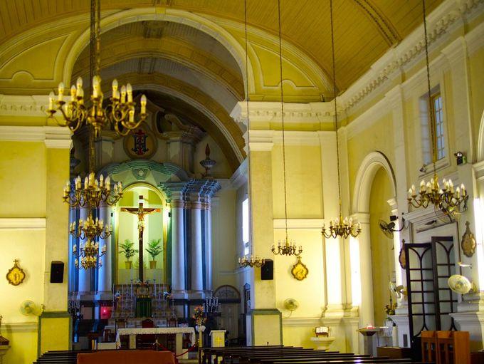 かつて人気No1の結婚式場だった「聖アントニオ教会」