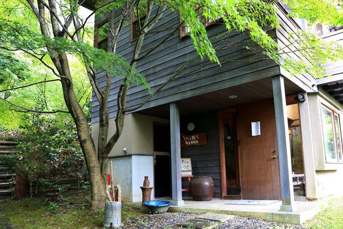 陶芸体験と宿泊もできる景観抜群の窯元「小川顕三陶房」