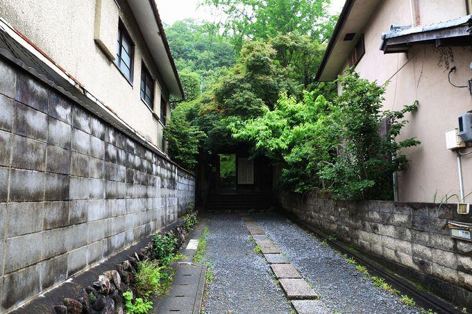 静寂に包まれた八瀬の里山に建つ天台宗寺院