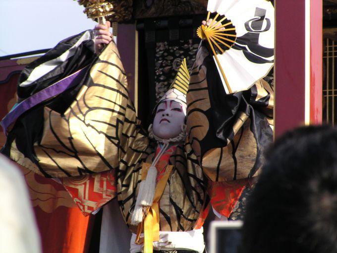 曳山まつり一番の見どころ「子ども歌舞伎」は4月13日〜16日!