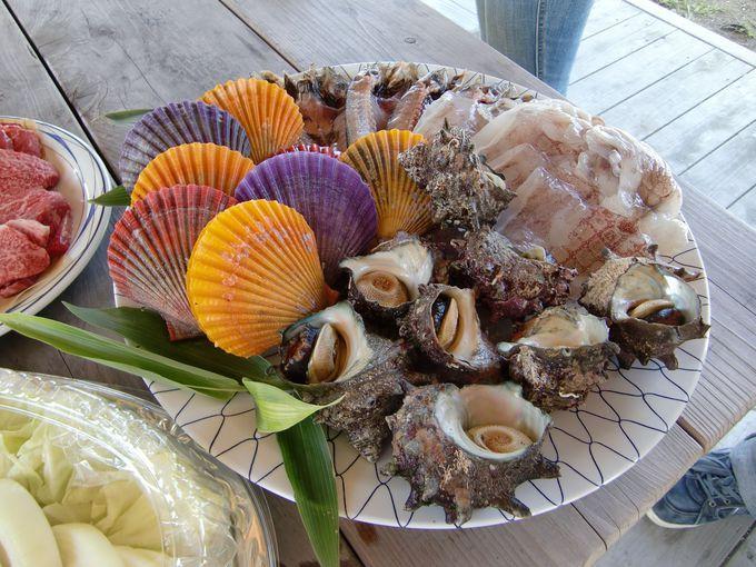 島の食材が一度に味わえるBBQピクニックで「島活」