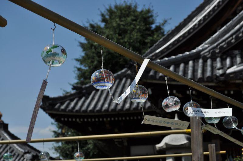 風鈴の音色に身も心も癒される、奈良のおふさ観音「風鈴祭り」