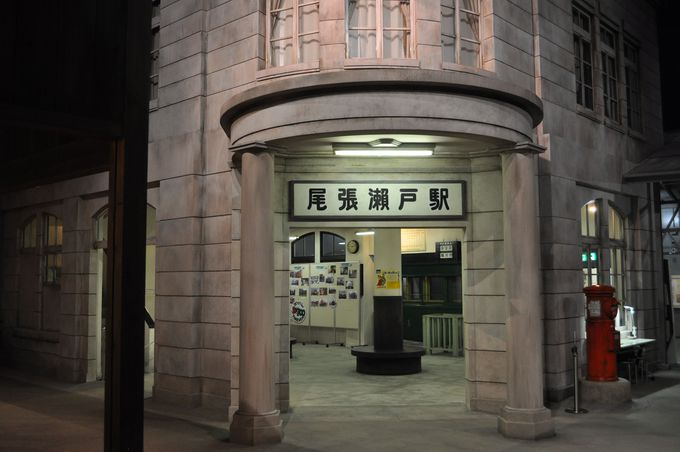 当時の駅を知らない人でも懐かしさを感じるはず。