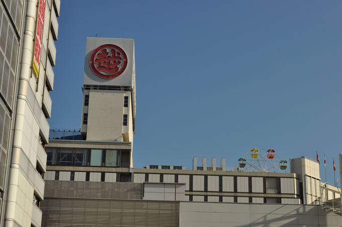 名古屋の栄には屋上遊園地が健在!