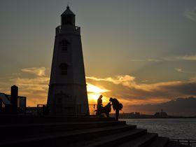 日本最古の木造洋式灯台!大阪・堺「旧堺燈台」は夕陽の名所!