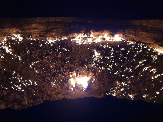 より迫力のある「地獄の門」を見るなら朝晩がおすすめ