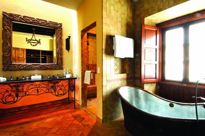 サンミゲルアジェンデを望むスイートルームがおすすめ