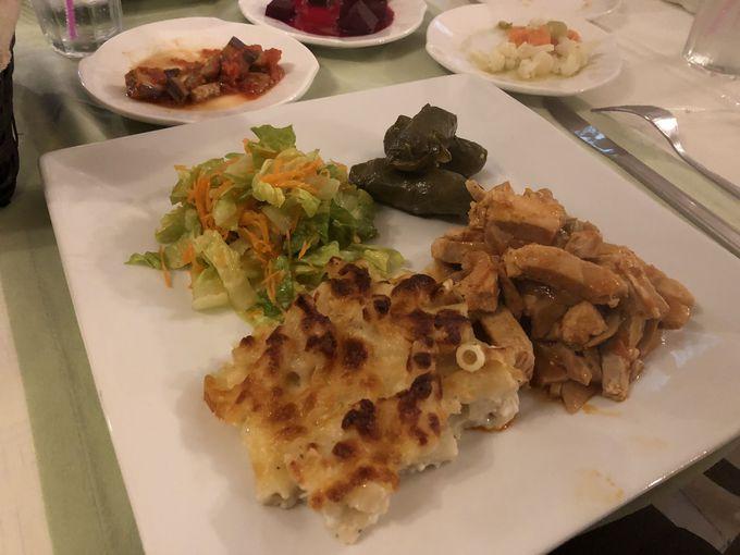 心のこもった手作りの味・朝食&夕食で北キプロスの食文化を知る