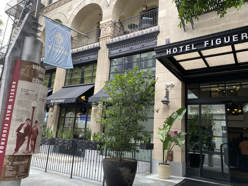 LAダウンタウンで100年の歴史を誇る「ホテル フィゲロア」