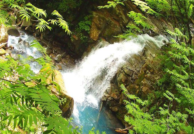 見応えと迫力は申し分なし「仁三郎の滝(別名、舞姫滝)」