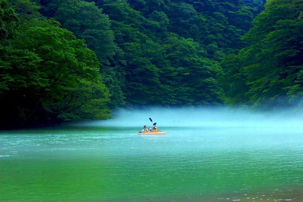那須高原板室ダム湖のカヌー体験で大自然を満喫しよう!