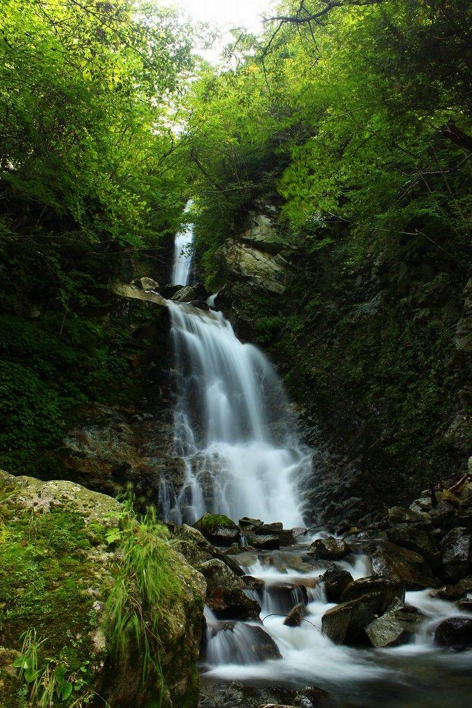 裏那須絶景の秘境『日暮しの滝』