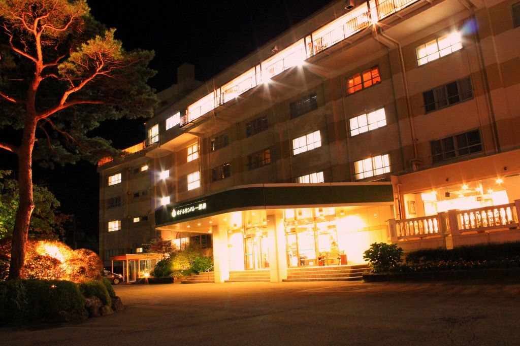 那須山が目の前!「ホテルサンバレー那須」の多彩な施設