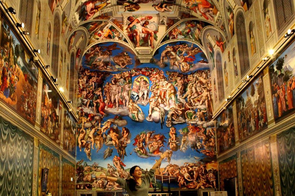 ルネサンスの名作とトリックの融合『ミケランジェロ館』
