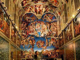 世界遺産システィーナ礼拝堂が超圧巻『那須とりっくあーとぴあ』