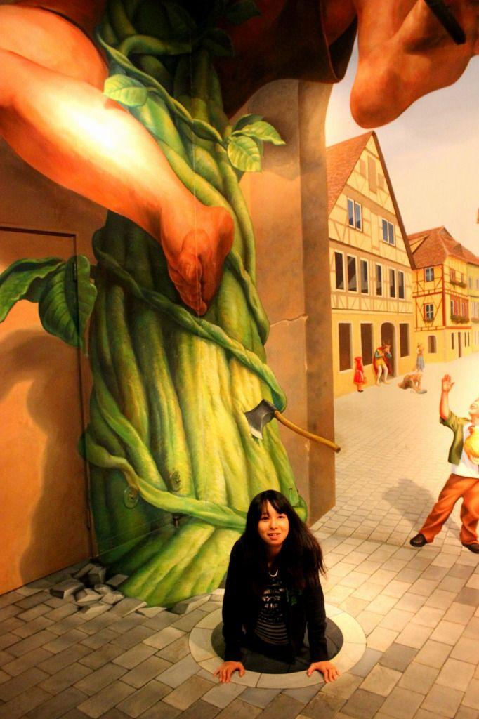 日本最大のトリックアートテーマパーク「那須とりっくあーとぴあ」