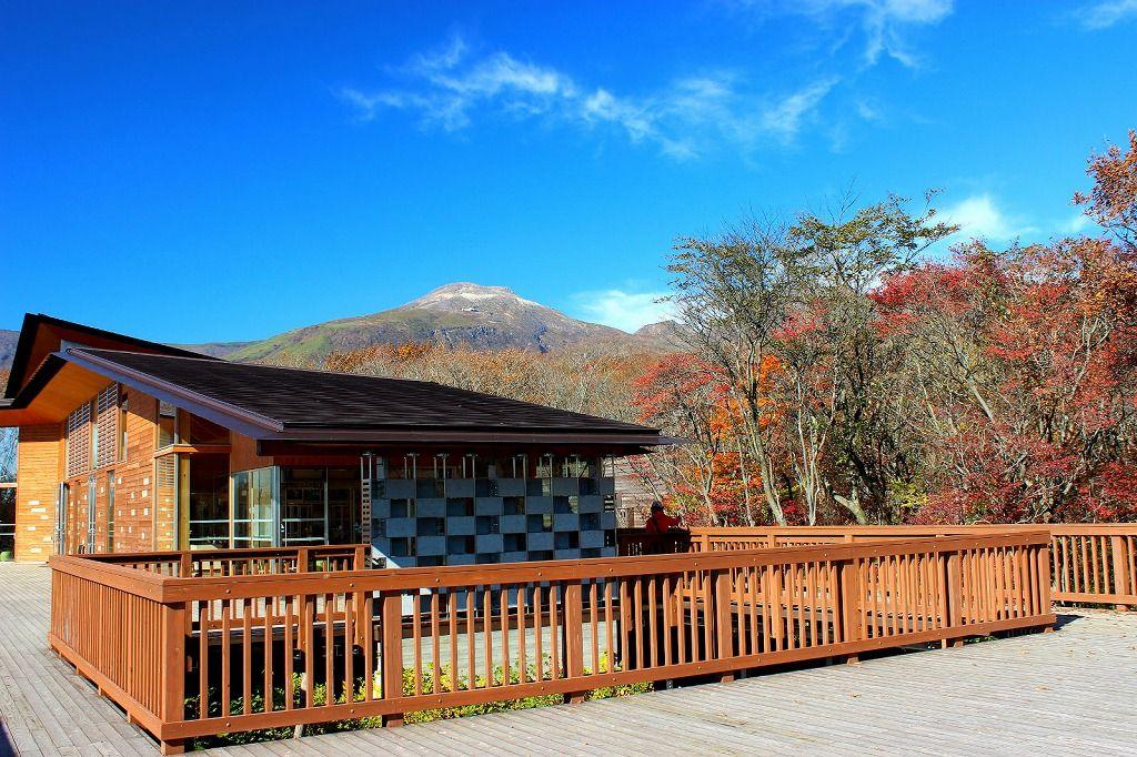 散策コースの出発地点は「那須平成の森フィールドセンター」!