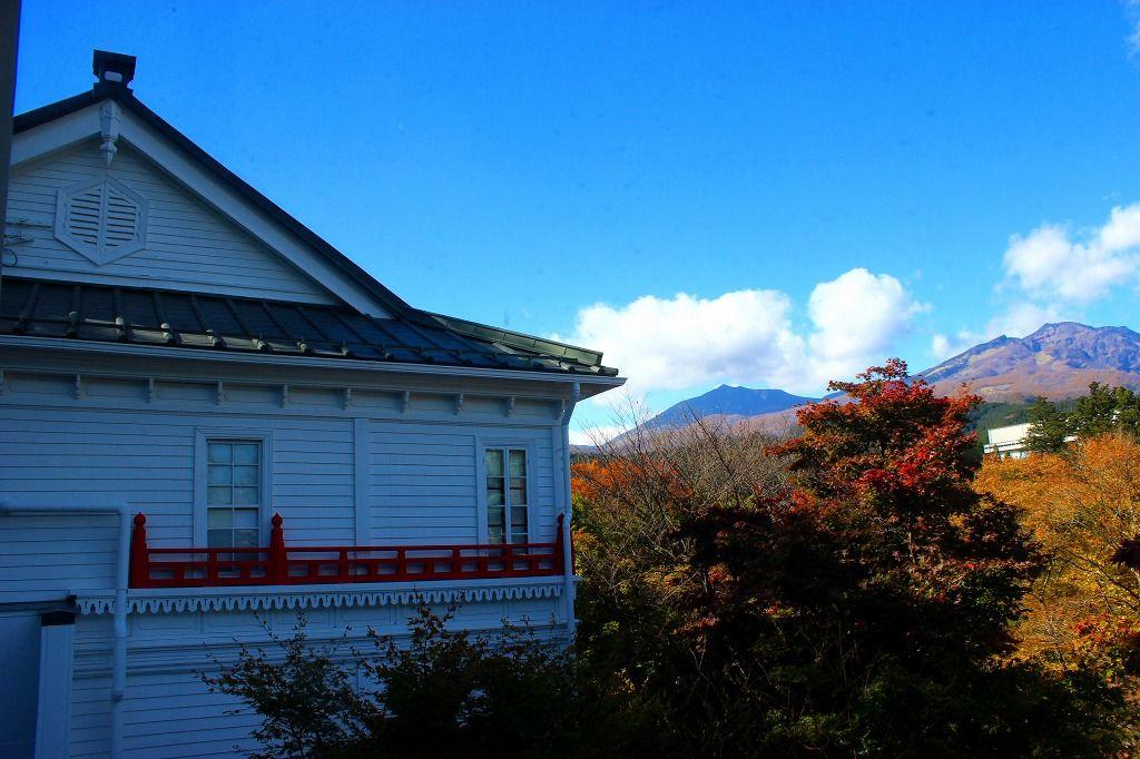 客室の窓からは『日光連山』の眺望が素晴らしい!