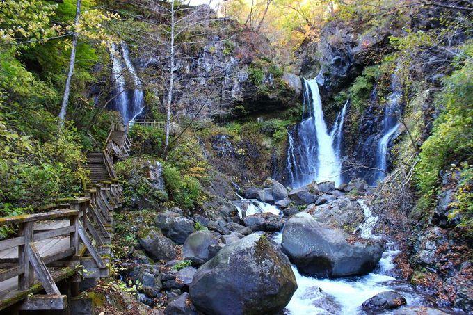 滝の姿は季節により違いがあります。