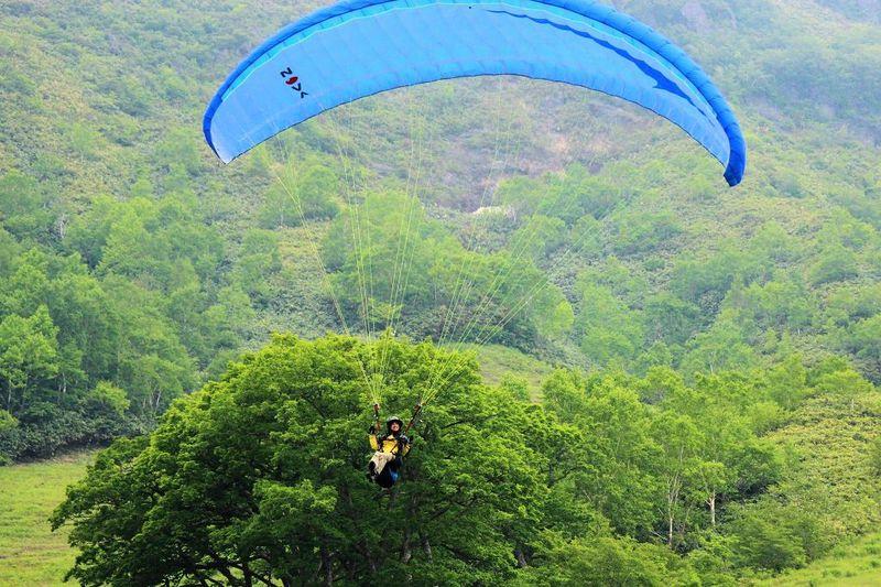 那須高原の大空で鳥になろう♪「パラグライダー」空旅体験!