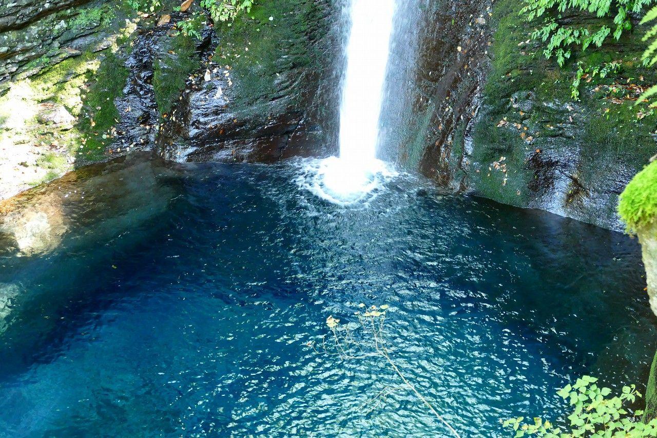 「幻のおしらじの滝」へ行ってみよう!