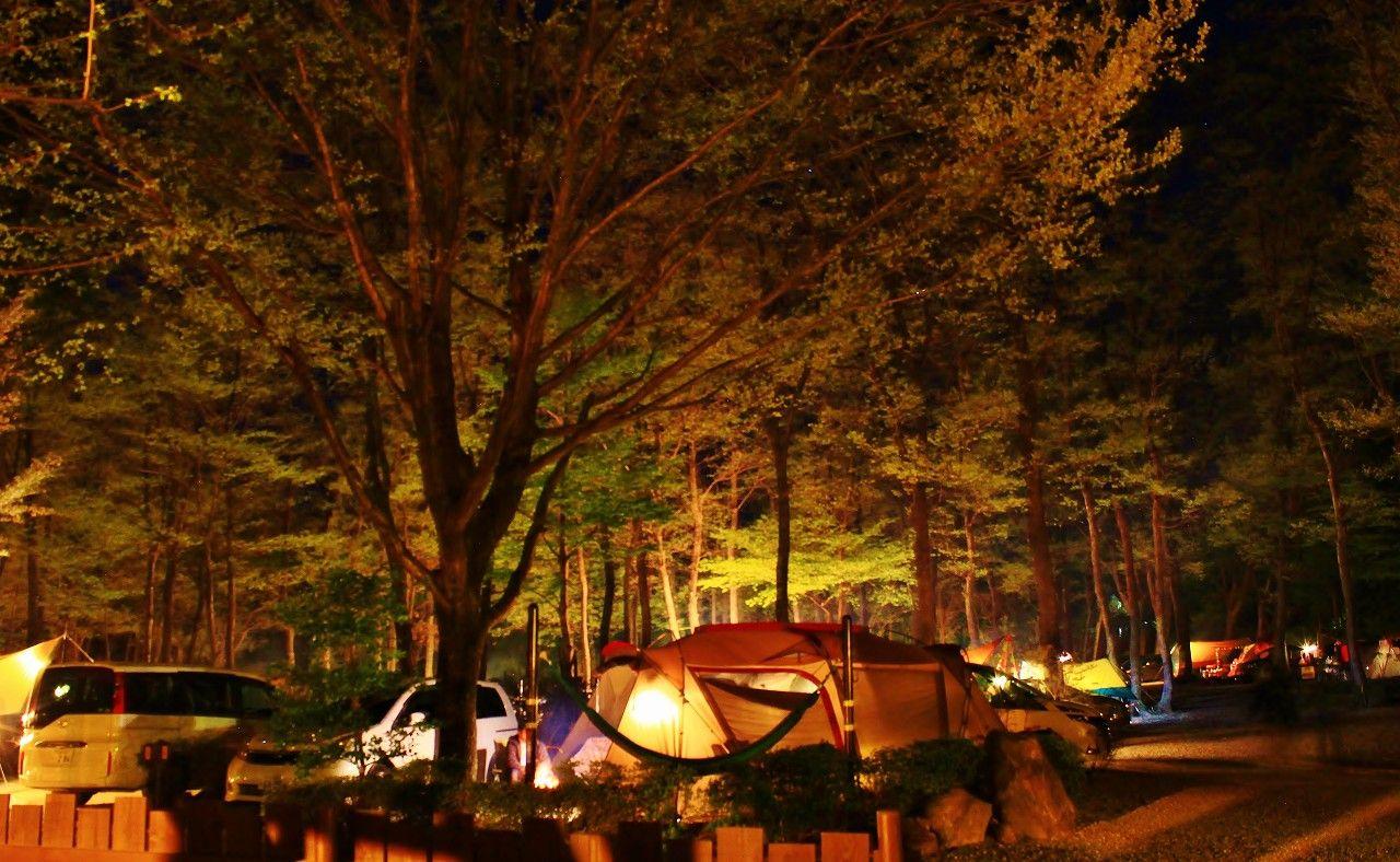 キャンプ・デヴューには最高の充実した施設が揃っています!