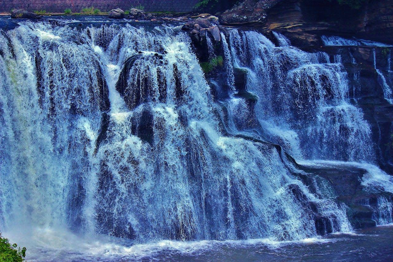 まるでナイアガラの滝みたい!
