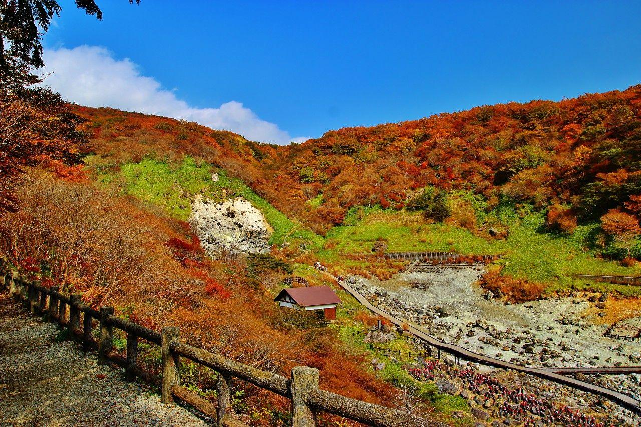那須高原悠久の名勝地!「殺生石」までは神社から徒歩7分