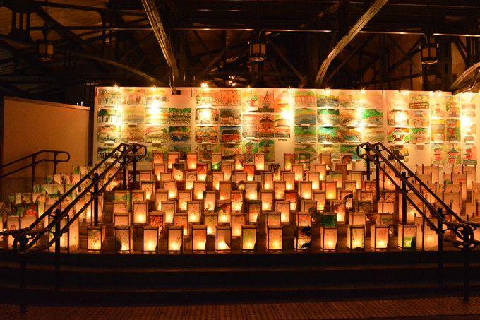 阪急嵐山駅 駅前広場からスタート