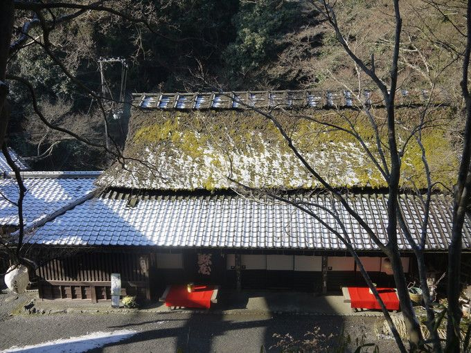 嵯峨鳥居本の雪景色