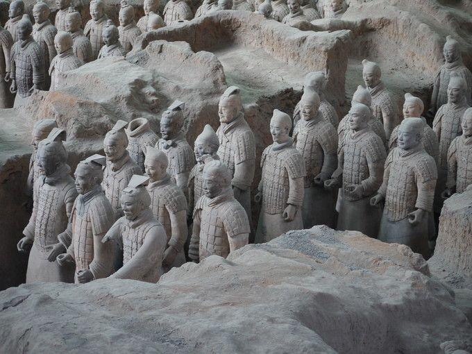 1.兵馬俑(兵馬俑博物館)