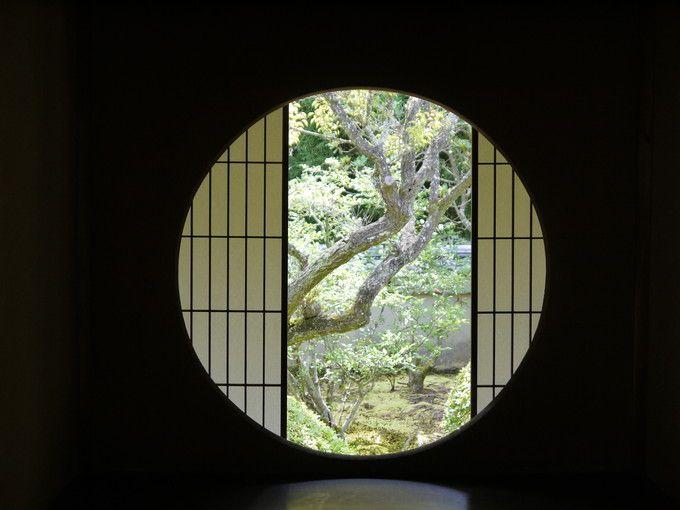 雲龍院の悟りの窓