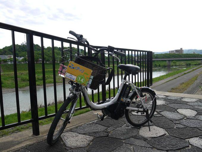レンタル電動自転車「ふくチャリ」は格安で便利だ