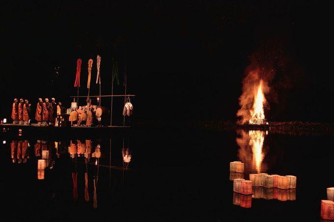 真夏の夜の「宵弘法」(嵯峨の送り火)