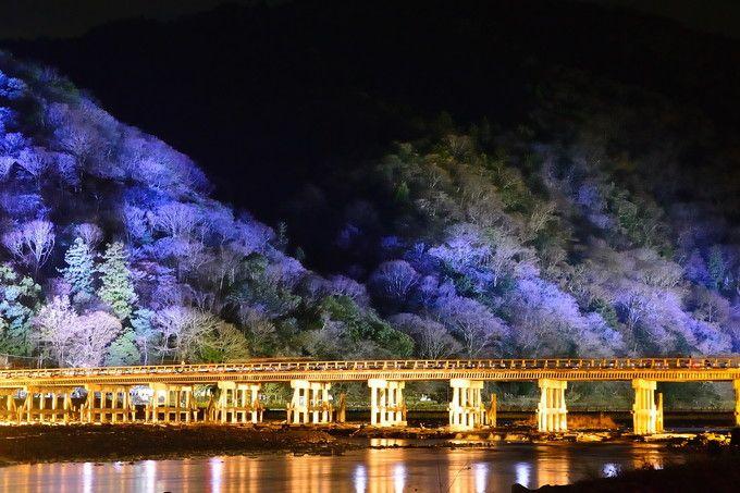 嵐山花灯路とは