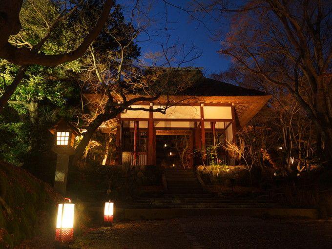トロッコ嵐山駅近くから常寂光寺へ