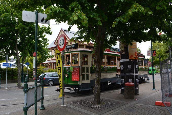 NZ南島のガーデンシティ「クライストチャーチ」市内の見どころ紹介