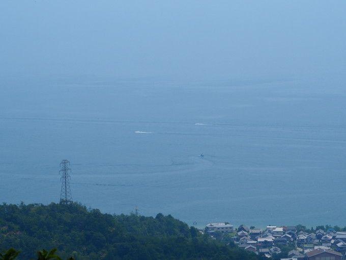琵琶湖も一望できる「滝見台」