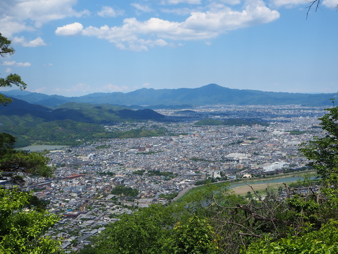 眺望抜群の嵐山