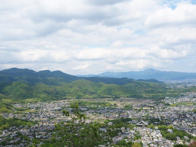 山頂近くの展望所からの眺望は絶景!